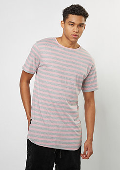Cayler & Sons T-Shirt CSBL Striped Scallop mauve