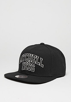 Mitchell & Ness Snapback-Cap Black And White Arch black