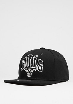 Mitchell & Ness Snapback-Cap Black And White Arch NBA Chicago Bulls black