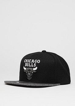 Mitchell & Ness Snapback-Cap Melange Infill NBA Chicago Bulls black