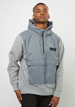 Hooded-Sweatshirt EVRT Repel cool grey/dk grey heather