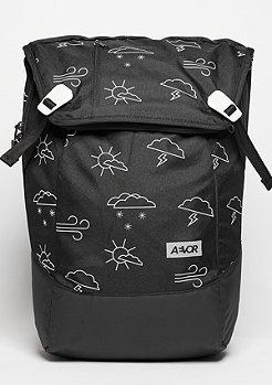 Aevor Rucksack Daypack Weatherman black/white