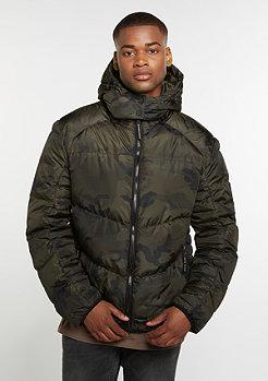 Winterjacke Military Camo/Black