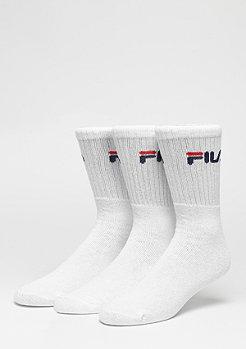 Fila Chaussettes de sport Men pack de 3 white
