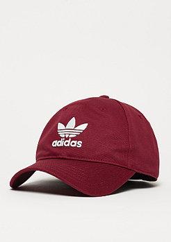 adidas Baseball-Cap Trefoil collegiate burgundy/white