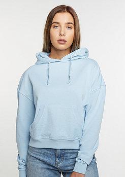 Hooded-Sweatshirt light blue