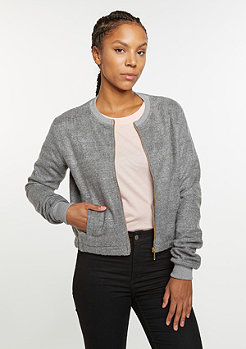 Flatbush Übergangsjacke Fleece Blouson grey
