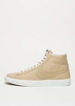 NIKE Schuh Blazer Mid-Top Premium linen/summit white/gum light brown