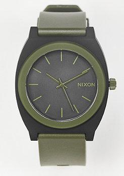Nixon Uhr Time Teller P matte black/surplus