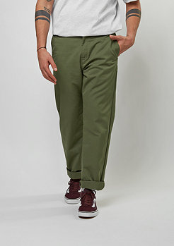 Carhartt WIP Chino-Hose Station rover green