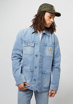 Carhartt WIP Michigan Chore Coat blue true bleached