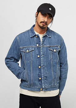 Carhartt WIP Western Jacket blue stone washed