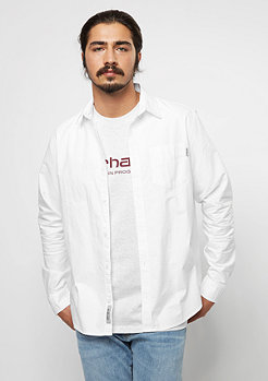 Carhartt WIP Chemise à manches longues Button Down Pocket white