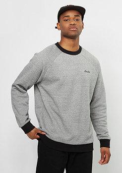 Sweatshirt Trevor Fleece heather grey/black