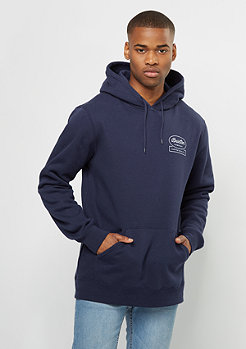 Brixton Hooded-Sweatshirt Dale Fleece light navy