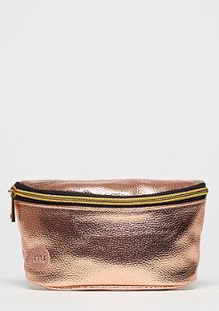 Mi-Pac Gold Slim Bum Bag Metallic rose gold