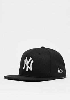 Strapback-Cap 9Fifty Melton Snap MLB New York Yankees black