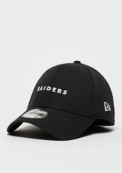 New Era Baseball-Cap 39Thirty Mini Wordmark NFL Oakland Raiders official team