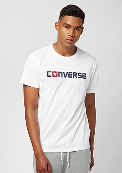 Converse T-Shirt Core Wordmark white