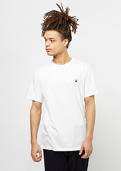 Converse T-Shirt Core Left Chest CP white