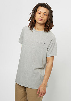 Reell T-Shirt Pocket light grey/dark grey