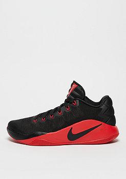NIKE Basketballschuh Hyperdunk 2016 Low black/university red/dark grey