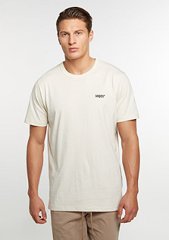 SNIPES T-Shirt Chest Logo birch/black embroidery