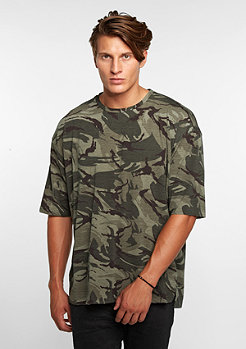 Sixth June 3/4 Sleeves camouflage