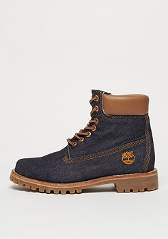 Timberland Heritage 6 raw white oak denim