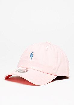 Mitchell & Ness Baseball-Cap Dribbler Logo Low Pro NBA pink/light blue