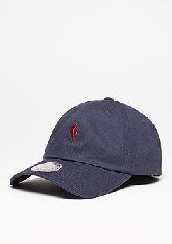 Mitchell & Ness Baseball-Cap Dribbler Logo Low Pro NBA navy/burgundy