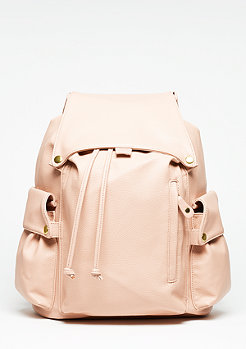 SNIPES Rucksack Tumbled Debossed rose
