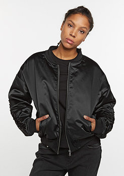 Future Past Übergangsjacke Laced Up Bomber black