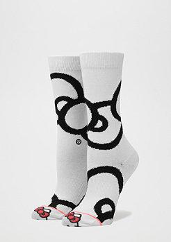 Stance Fashionsocke Bows white
