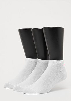 Fila Unisex Invisible Socks 3-Pack white