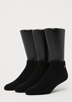 Fila Unisex Invisible Socks 3-Pack black