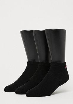 Fila Unisex Invisible Socks 3-Pack black