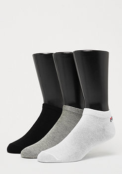 Fila Unisex Invisible Socks 3-Pack classic