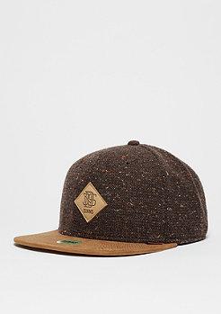 Djinn's 6P SB Spotted Wool Pique brown