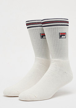 Unisex Vintage Socks 1-Pair F1701 white