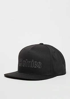 Snaback-Cap Corporate 5 black/grey
