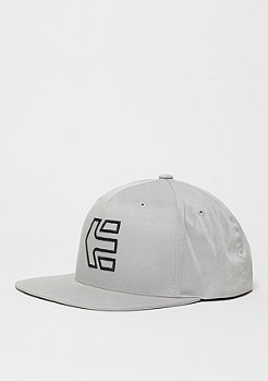 Snapback-Cap Icon 7 light grey