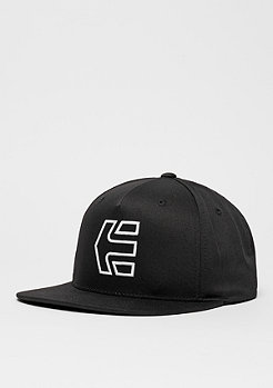 Snapback-Cap Icon 7 black/white