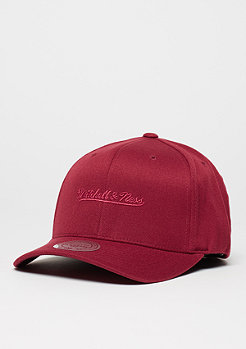Mitchell & Ness Baseball-Cap Tonal Logo High Crown 110 burgundy