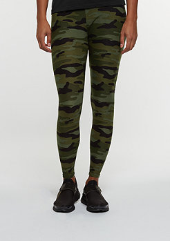 Urban Classics Leggings Camo woodland