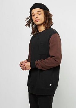 Etnies Sweatshirt Point A black/red