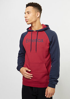 Emerica Hooded-Sweatshirt Purity oxblood