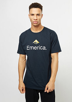 Emerica T-Shirt Skateboard Logo navy