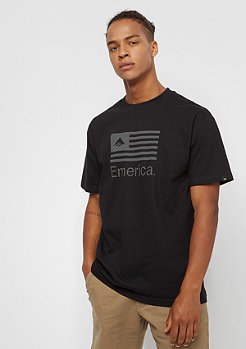 Emerica T-Shirt Pure Flag black