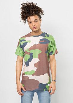 T-Shirt Rainforest Camo multicolor
